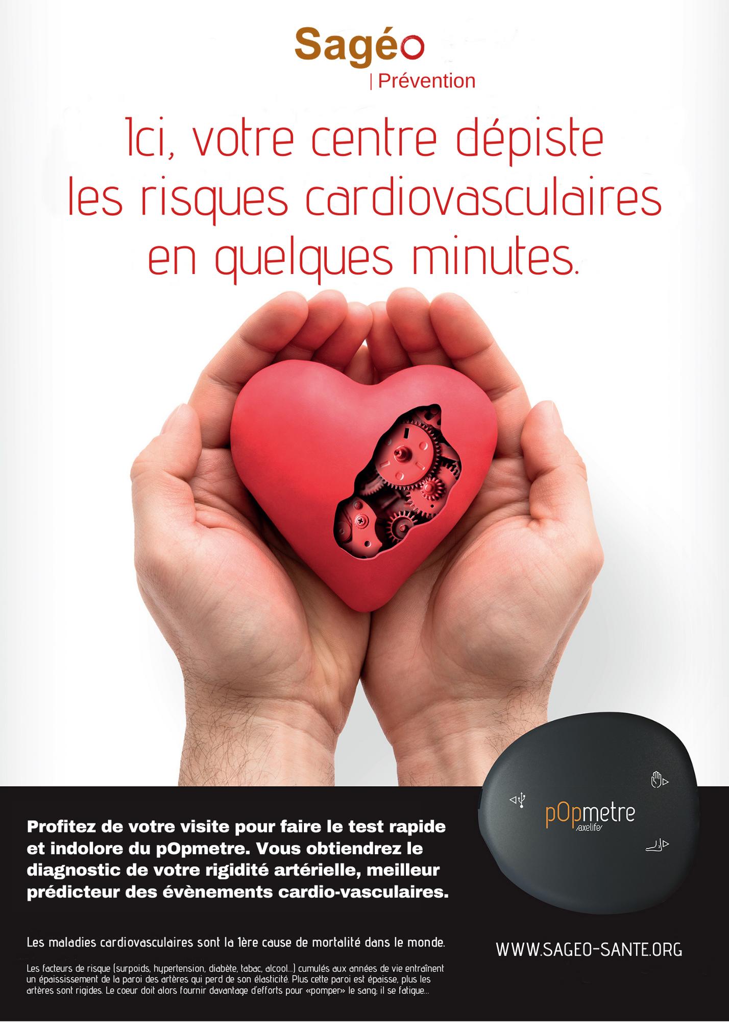 Sagéo renforce la prévention cardiovasculaire dans ses pôles de santé